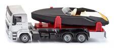 Man Camion avec Bateau À moteur Siku Super 1 50 Art.2715