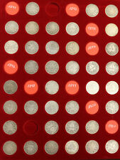 fast komplette Sammlung 1 Mark 1891 - 1916, 114 Stück, selten angeboten