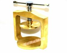 NEW DENTAL LABORATORY SINGLE BRASS FLASK PRESS COMPRESS FOR DENTURE PARTIAL WORK
