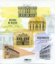 Belgium 2018 MNH Splendid Belgian Mansions 5v M/S Houses Architecture Stamps