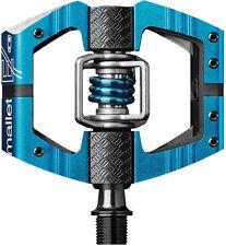 Crank Brothers Mallet E Platform MTB Enduro Downhill Pedals - Electric Blue