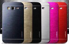 Coque Etui Housse Rigide Aluminium Métal Brossée pour Samsung Galaxy J3 2016