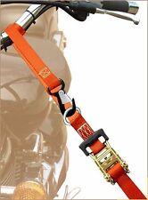 "Ratchet Heavy Duty Straps Tie Down Motorcycle ATV 1.5"" by 8' Transport Belts"
