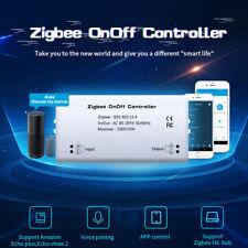 Zigbee Switch Module Smart Home ON OFF Controller Wireless Hub Alexa Q9B4C