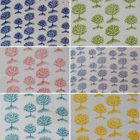 Cotton Handmade Sanganeri Vintage Hand Block Print Fabric Indian Natural Printed