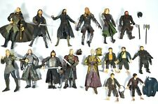 ToyBiz Lord Of The Rings LOTR action Figure Lot Of 16 W/ Some Accessories