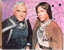 Battlestar Galactica Autograph 8x10 Photo- Signed by Richard Hatch (Ebau-1336)