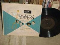 "Pete Seeger The Weavers ""Folk Songs Of America & Other Lands"" 10"" DECCA LP 1954"