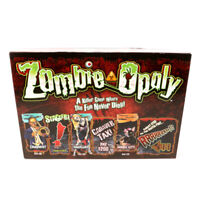 Zombie-Opoly Board Game Replacement Pieces Parts Mover Tokens Cards