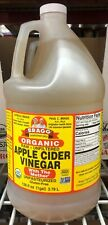 1 Gallon Bragg Organic Apple Cider Vinegar with Mother Raw Unfiltered