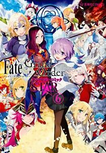 JAPAN NEW Fate / Grand Order Anthology comic STAR 6 manga