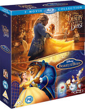 Beauty & The Beast /Animated Double pack (Blu-ray) *BRAND NEW*  PRE-ORDER!