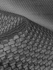 Black Basket Weave Heavy Duty Vinyl Upholstery Car Vinyl Fabric Sold By The Yard