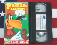 Foghorn Leghorn VHS Cartoons Growing Pains Molly Moo-Cow Video Looney Tunes Rare