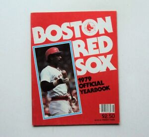1979 Boston Red Sox Yearbook Jim Rice cover MINT -  FLASH SALE