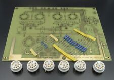 El84 stereo push-pull amplifier Pcb + Resistors +6pcs Tube seat