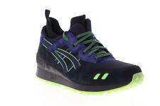 Asics Gel Lyte MT H7XUK-9058 Mens Black Mesh Low Top Lifestyle Sneakers Shoes 8