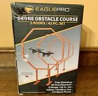 EAGLE PRO Drone Racing Obstacle Course 3 Hoops 36 piece set - NIB