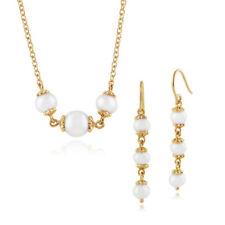 Parure con diamanti e gemme bianco