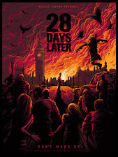28 Days Later Alternative Movie Poster Art by Dan Mumford S/N /18 NT Mondo