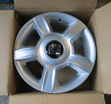 GENUINE SEAT IBIZA ALLOY WHEELS 6 X 14 SET OF 4 NEW 6L0601025F GENUINE SEAT SET