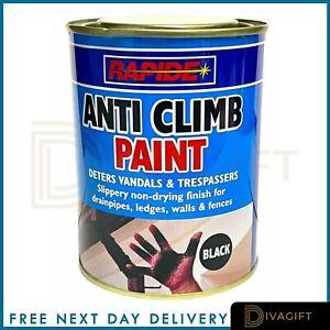 Anti Climb Paint 500ml Slippery Non Drying Paint Black 500ml