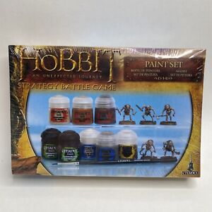 Citadel The Hobbit  Paint Set Boxed With 5 Goblin Warriors - Rare  NEW & Sealed