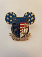 Disney Pins - DLR Cast Exclusive July 4, 2004 Mickey Mouse