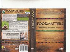 Foodmatters-The Secrets To  Good Health Revealed-John Gray Ph.D-Food-DVD