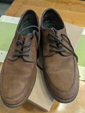 Rockport Suede Oxfords Men's Size 9 M Casual Shoe Tan Beige