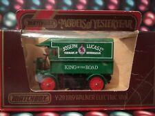 Matchbox Models Od Yesteryear Y-29 1919 Walker Electric Van