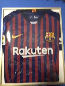 2018-19 Barcelona La Liga Champions Signed Jersey