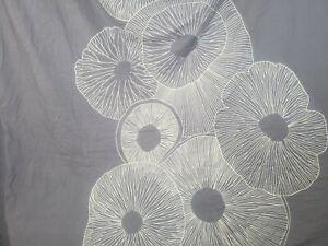 Marimekko FULL/QUEEN Duvet Cover SLATE COLOR BLUISH-GRAY/WHITE PATTERN