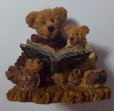 Ted & Teddy ~ Boyd's Bearstone #2223 ~ 40E/482