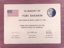 Memorial Plaque for Yuri Gagarin GLOSSY PHOTO PRINT 3611