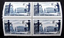 France-1948-Stanislas Palace-Block of Four 25F issues-MNH