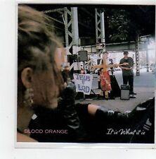(FL812) Blood Orange, It Is What It Is - 2014 DJ CD
