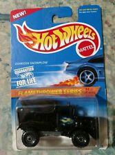 Hot Wheels Flamethrower Series 4 Oshkosh Snowplow Truck 15226 387 CT New