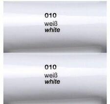 ORACAL 751C Plotterfolie Autofolie Gegossene Folie 1m X 0,63 Weiß Glänzend