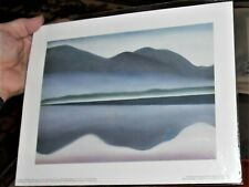 Georgia O'Keefe Lake George Reflection Seascape Unframed Art Print 2000