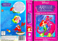 "VHS - "" Disney - ARIELLE die Meerjungfrau - Stormy, Das Wilde Seepferdchen """