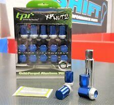 tpi XR Racing Nuts - Blue - M12x1.25