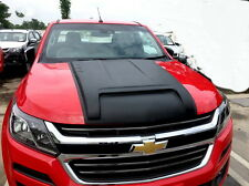 BLACK FRONT BONNET HOOD SCOOP COVER CHEVROLET COLORADO RG MY17 2016 2017 2018 19