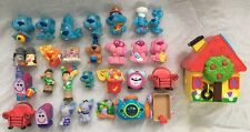29 Pc Vintage Blues Clues Huge Lot STEVE'S HOUSE Playset & PVC Figures Play Toys
