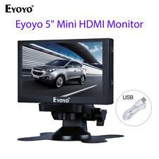 "Eyoyo 5"" Mini Rear View Monitor support VGA HDMI BNC AV for Car Manufacturing"