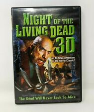 Night Of The Living Dead 3D (DVD, 2006, Widescreen) Glasses Included FP20