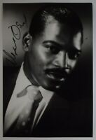 Alexander O'Neal Signed 12x8 Photo Autograph Signature Music AFTAL & COA