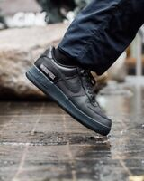 """Nike Air Force 1 GTX """"GORE-TEX"""" CT2858 001 """"TRIPLE BLACK"""" SIZE 16 FACTORY LACED"""