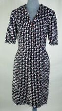 Linton para L.K. Bennett Tweed Shift Vestido Reino Unido 10 Vetti negro elegante inteligente