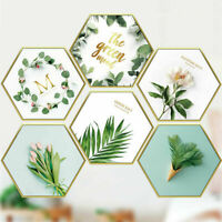 Flowers Leaves Framed Removable Wall Stickers Decal Fashion Home Decor DIY Gift